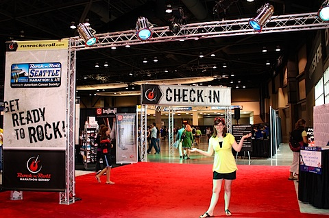 entrance to the expo.